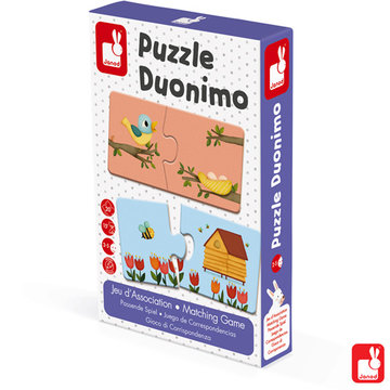 Janod Spel - matching - duonimo